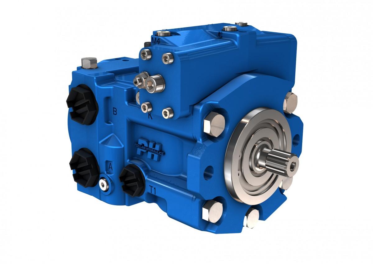 Гидронасос Poclain Hydraulics PM50-40