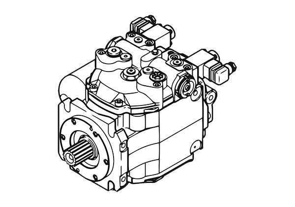 Запчасти для гидронасоса Linde Hydraulics BPV50