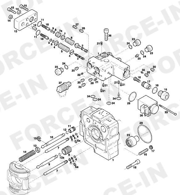 Магнит регулятора    24V AMP HPR210