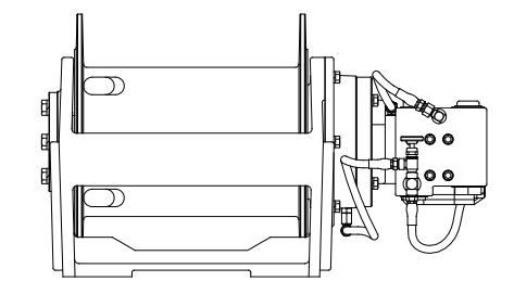 H20R-41063-01 Лебедка Boart Longear